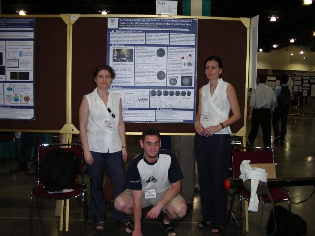 Susana, Sergio Ortiz & Patricia at ARVO, Fort Lauderdale, Fl, 2004