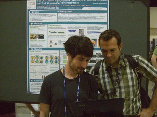 Pablo and Carlos at ARVO 2011